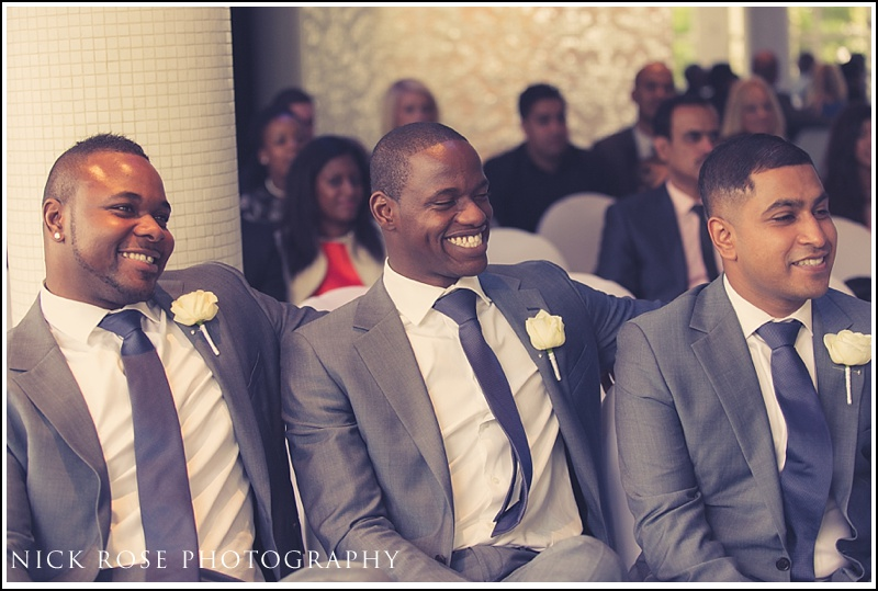 Wedding at Kensington Roof Gardens London