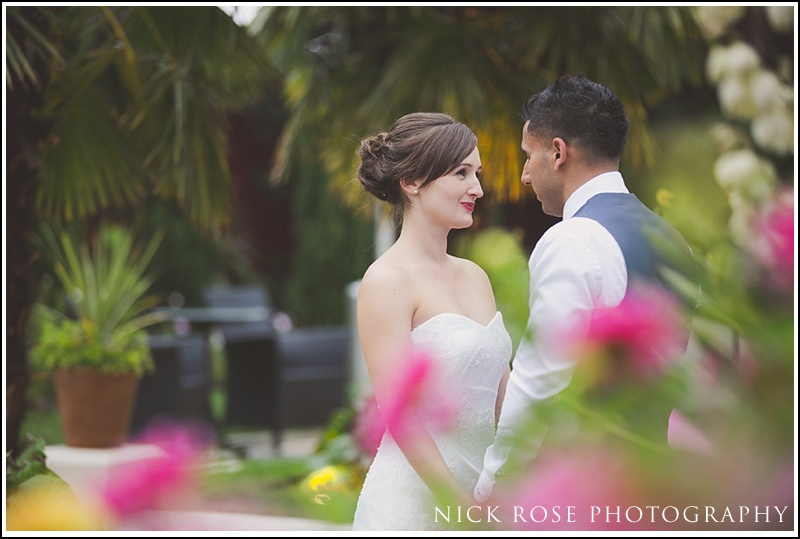 London wedding photographer Kensington Roof Gardens