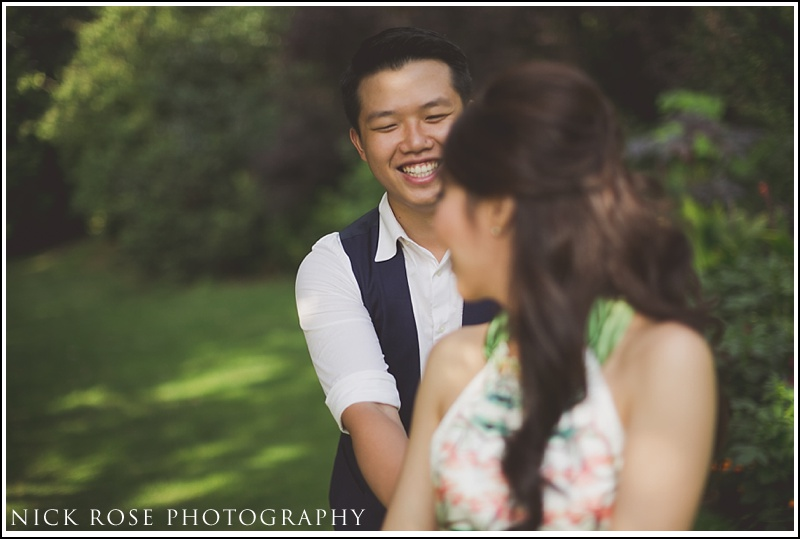 Malaysian engagement photographer London