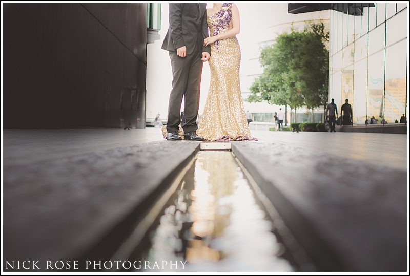 Asian engagement photographer London