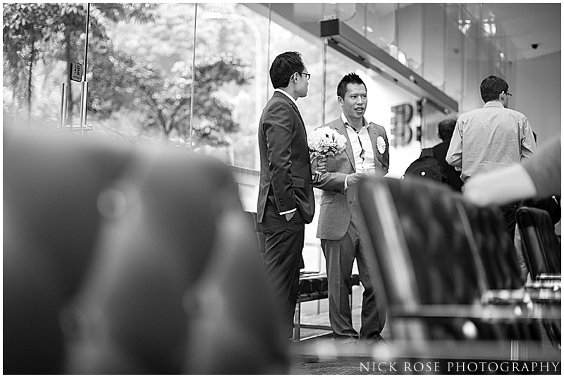 Grooms entourage Singapore