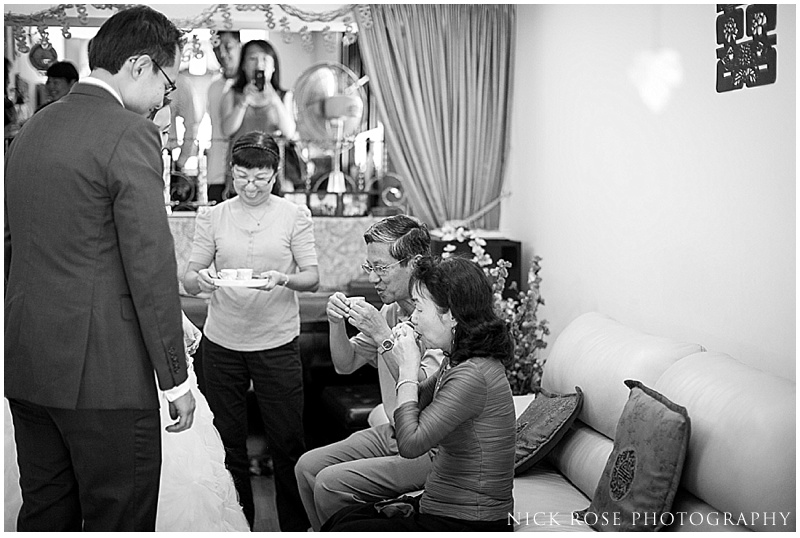 Singapore wedding tea ceremony