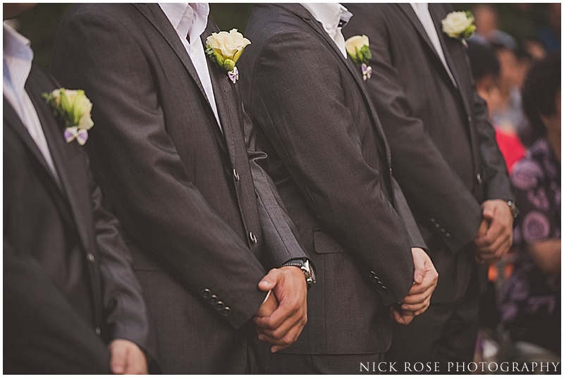 Groomsmen at Alkaff Mansion