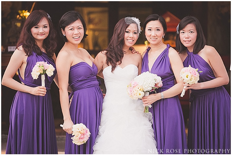 Outdoor destination wedding Singapore