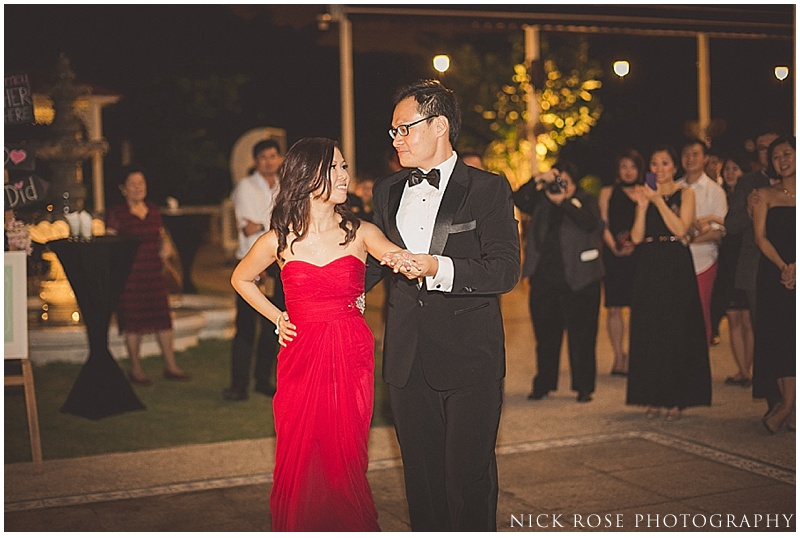 First dance at Alkaff Mansion