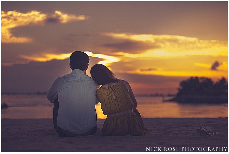Sentosa Island pre wedding photography Singapore