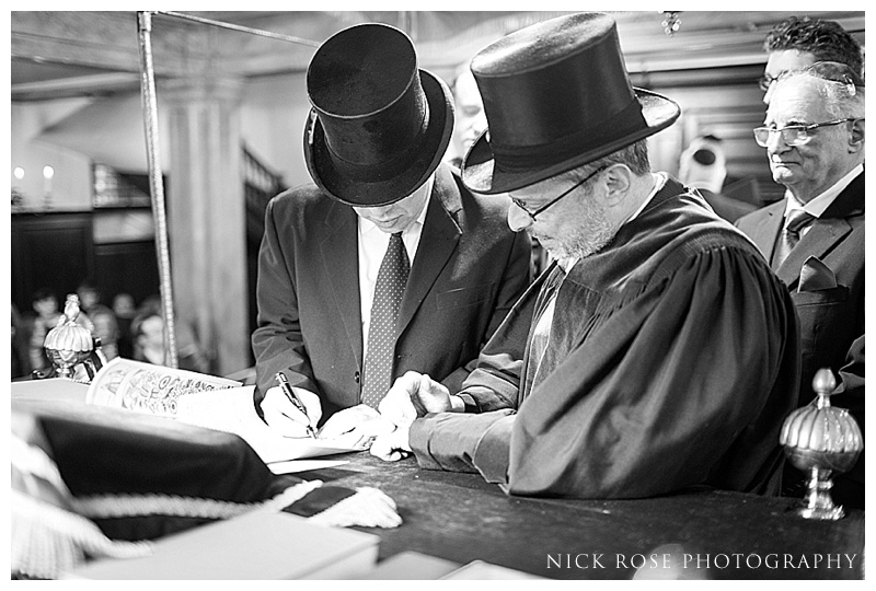 Bevis Mark Jewish wedding