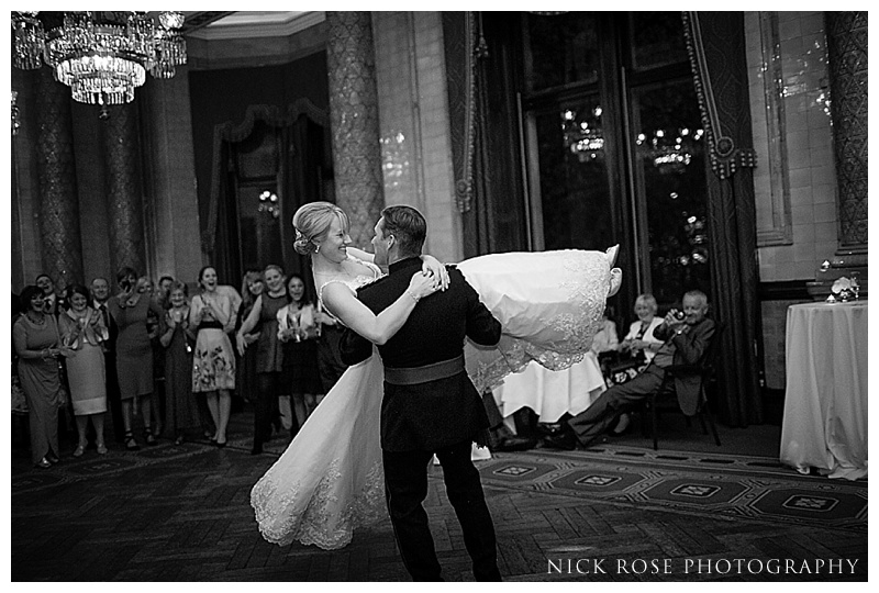 First dance at One Whitehall