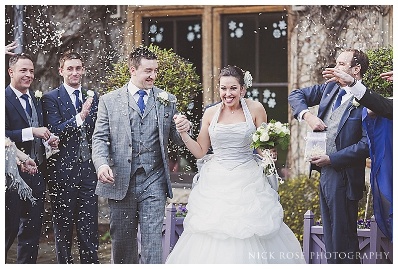 Winter wedding at The Manor House Hotel Castle Combe