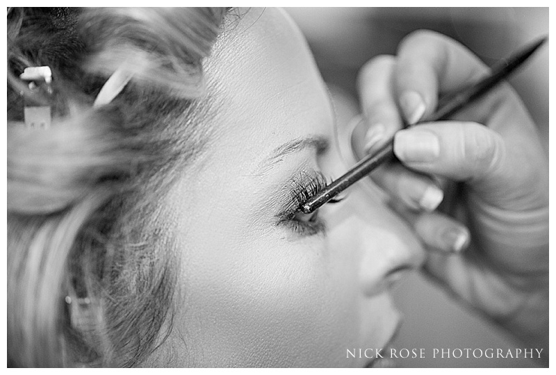 Ramster Hall Surrey bridal preperation