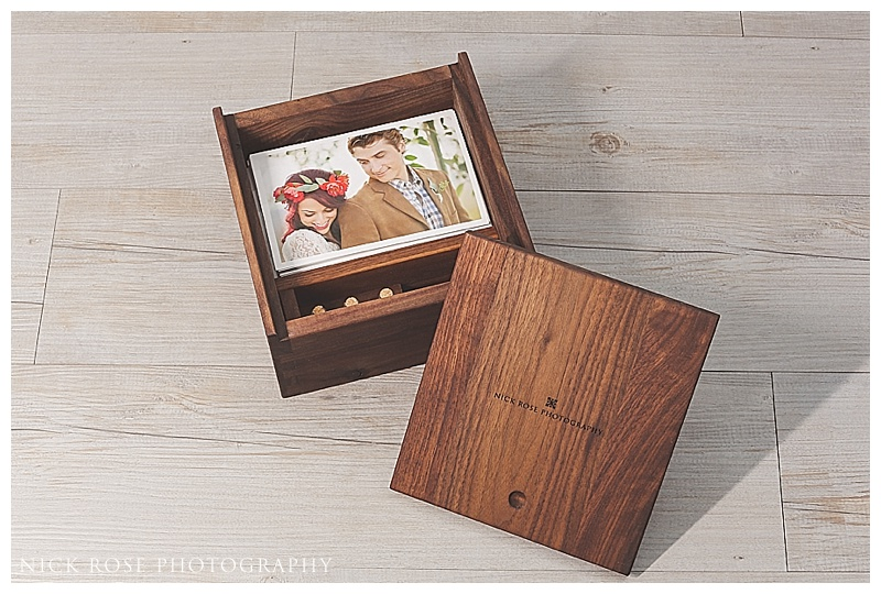 wedding photography display box