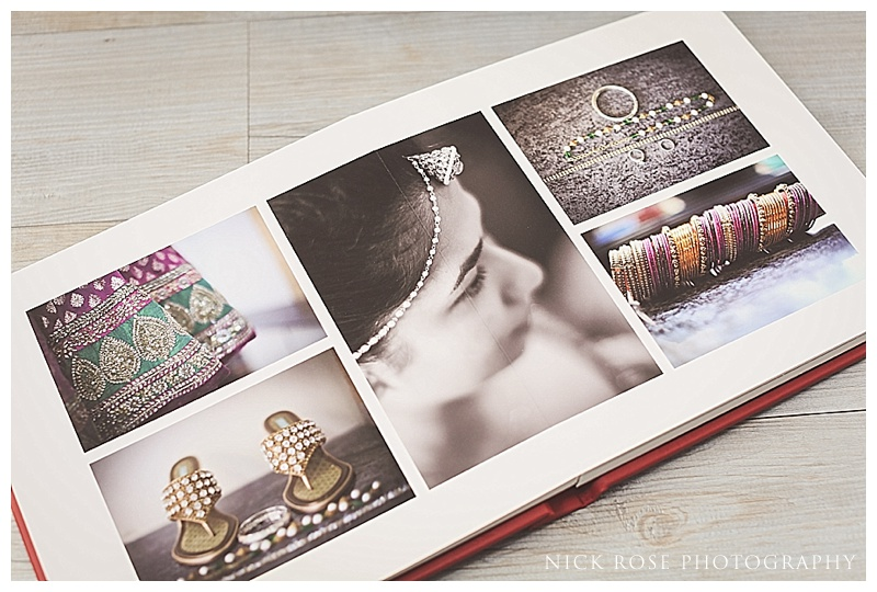 Fine art wedding photography albums