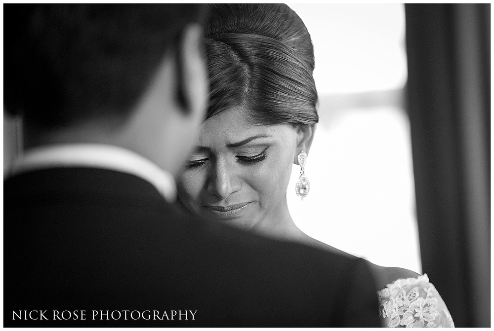Asian wedding photography Canary Wharf London