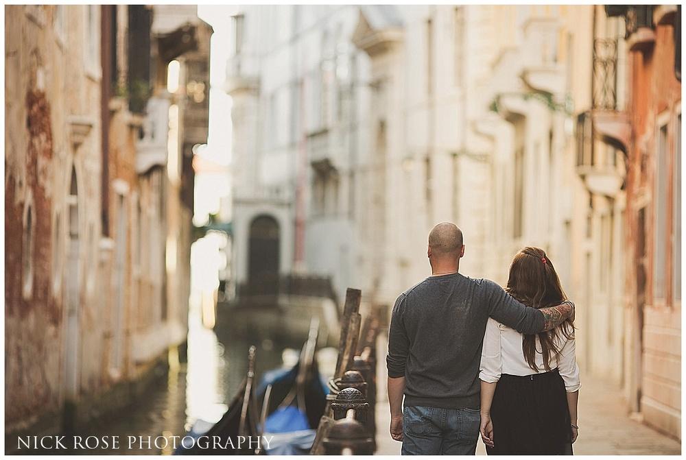 Venice pre wedding destination photography
