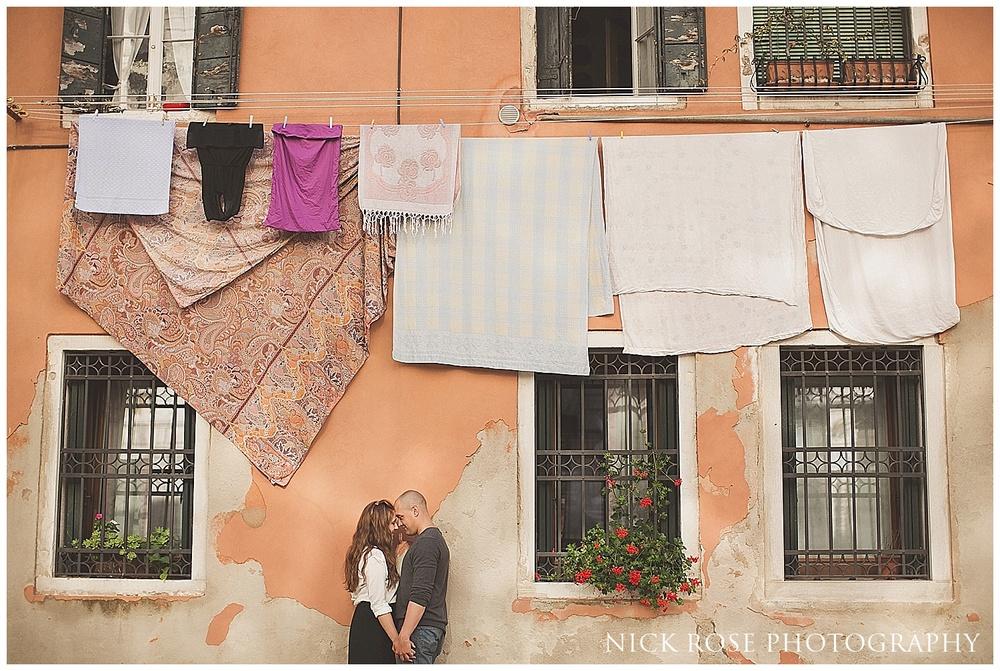 Destination pre wedding photographer Venice