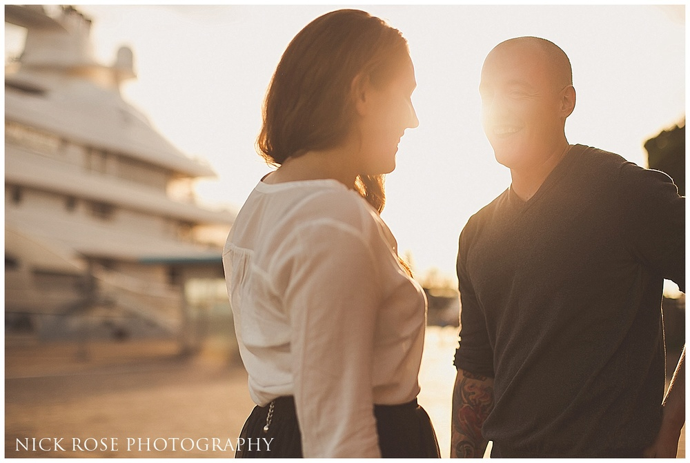 Pre wedding engagement photography Venice