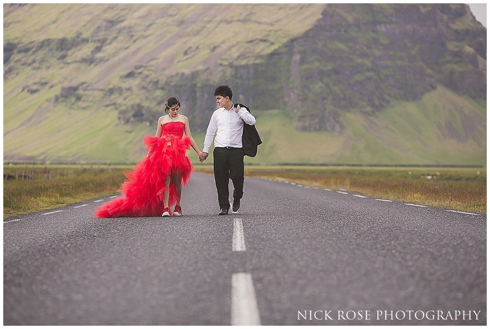 Engagement photographer Iceland