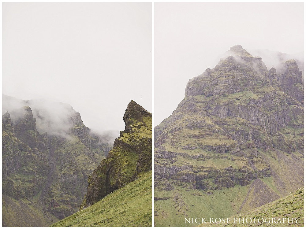 Iceland engagement photography landscape