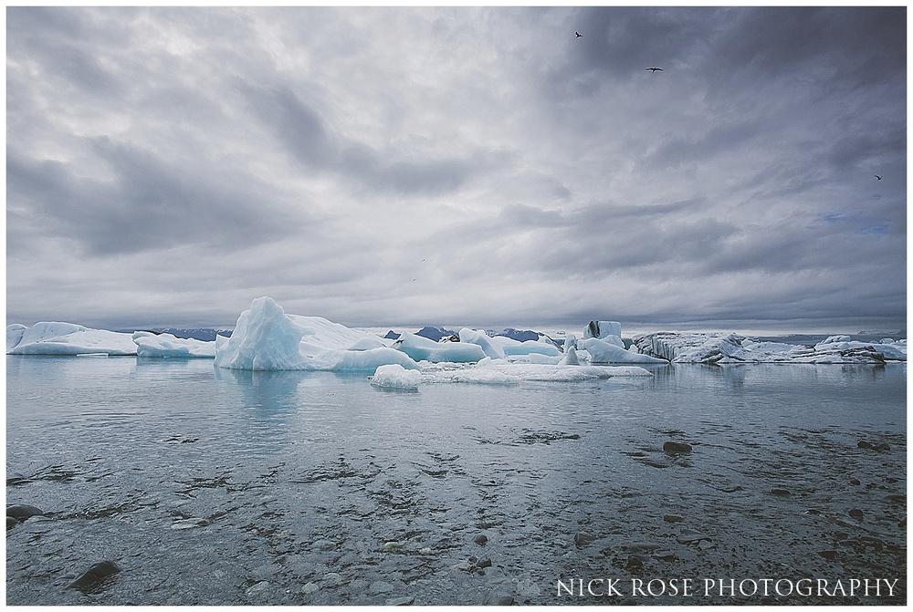 Jokulsarlon Ice lagoon Iceland