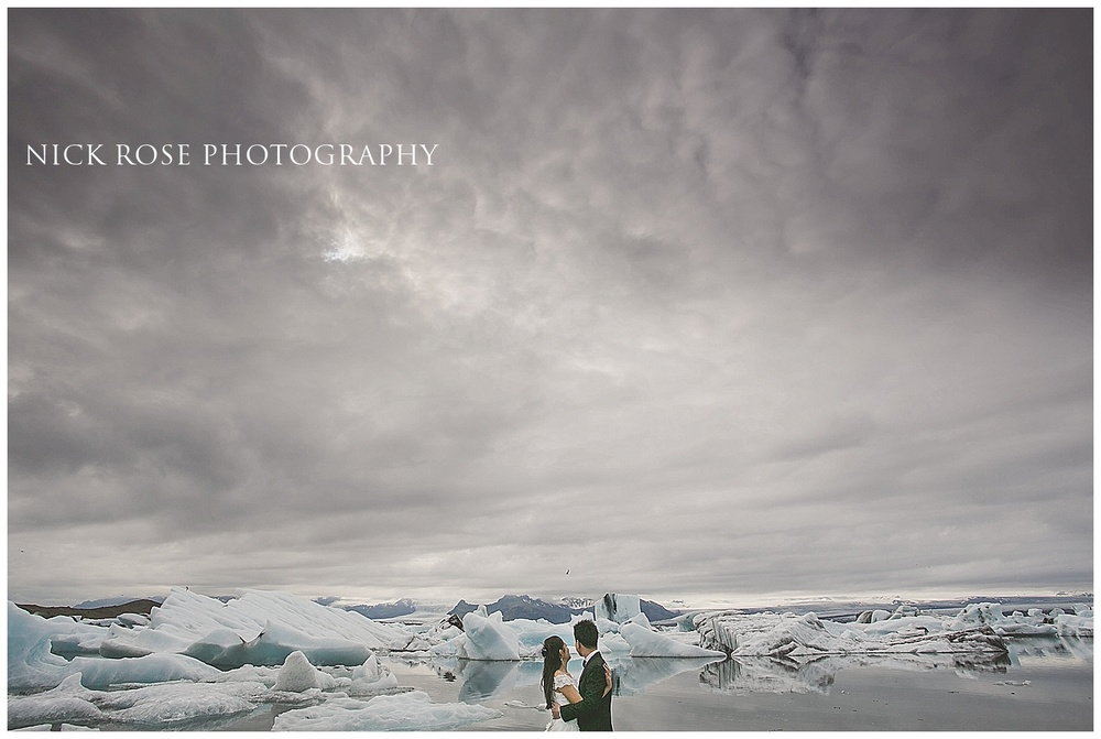 Jokulsarlon wedding photography Iceland