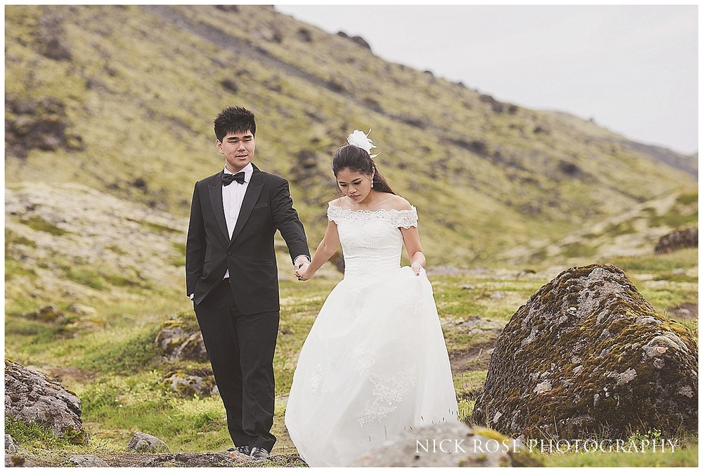 Destination pre wedding photographer in Iceland