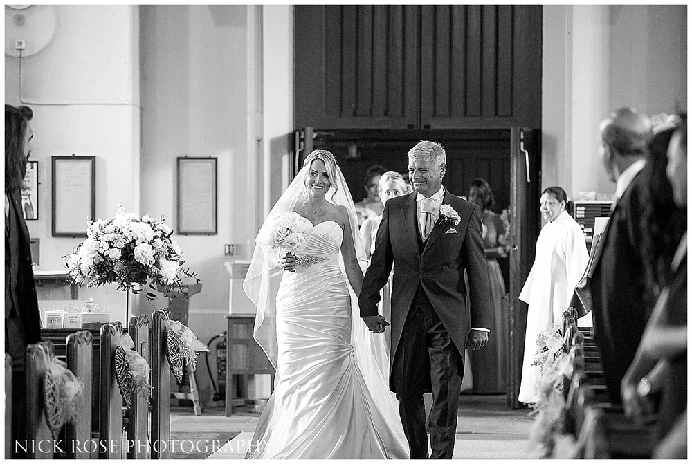 All Saints Church wedding Marlow