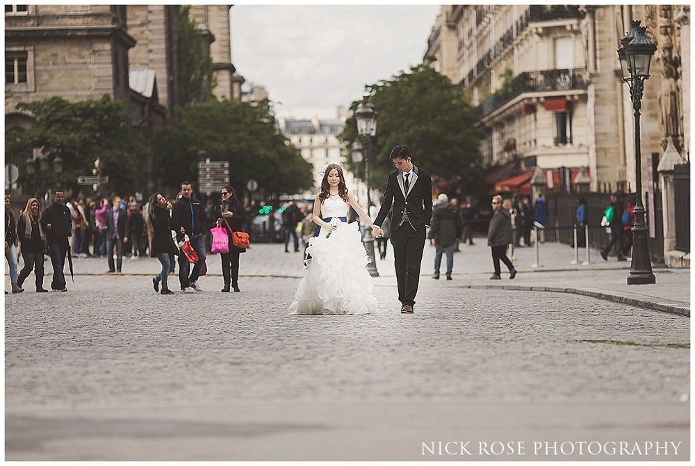 Central Paris pre wedding