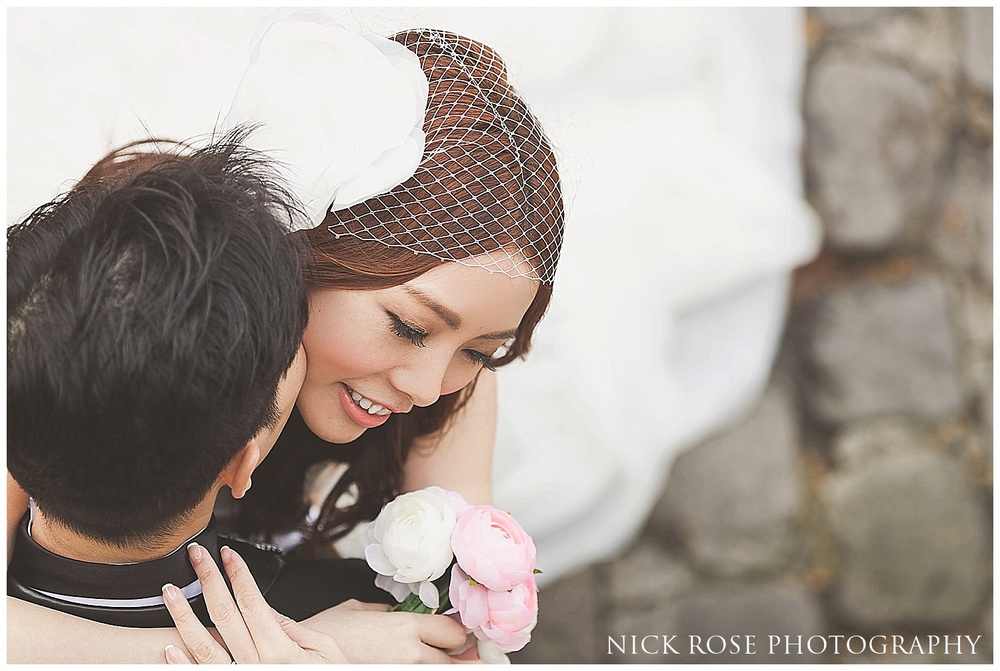 Asian pre wedding Paris
