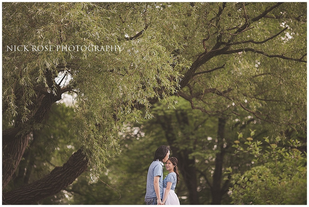 Toronto Island Park engagement photographer