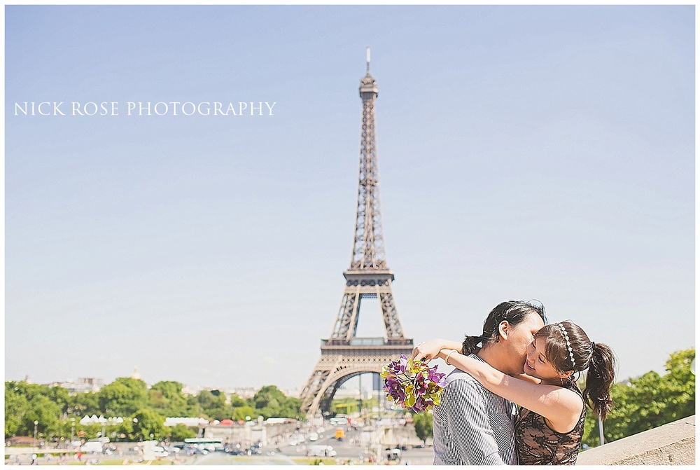 Engagement shoot Paris France