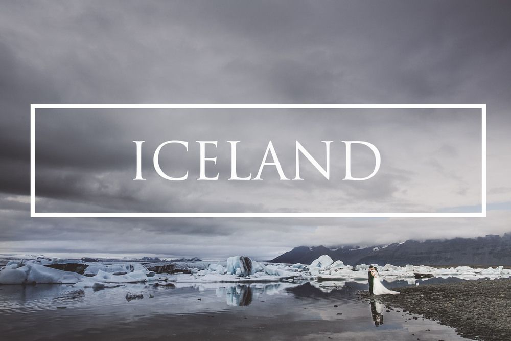 Destination pre wedding Iceland
