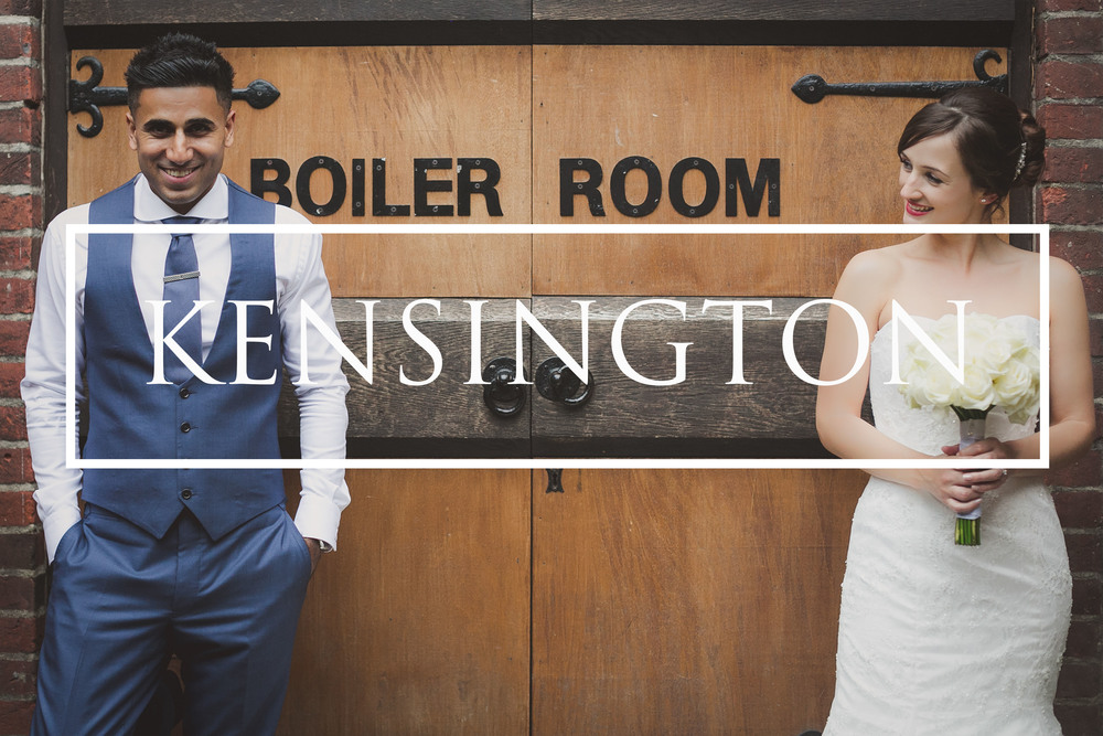 Kensington Roof Gardens wedding photographer London