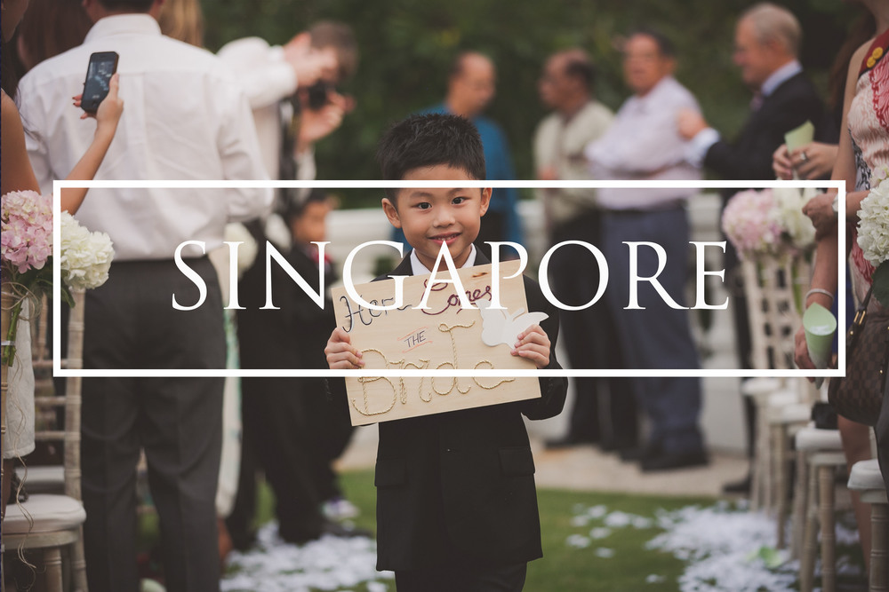 International wedding photography Singapore