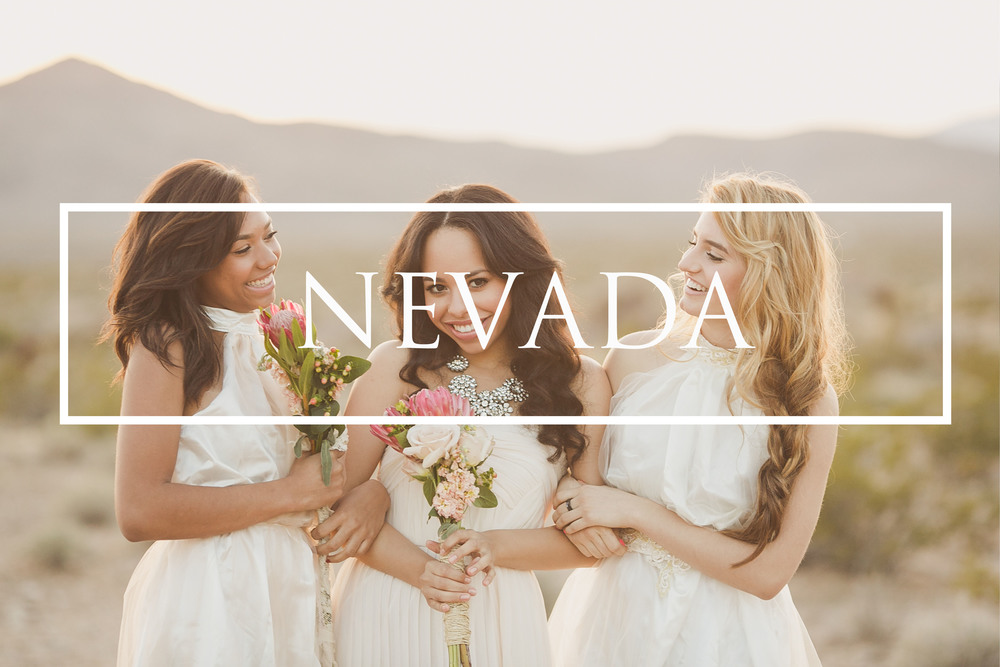 Nevada Desert Wedding Photography Sunset