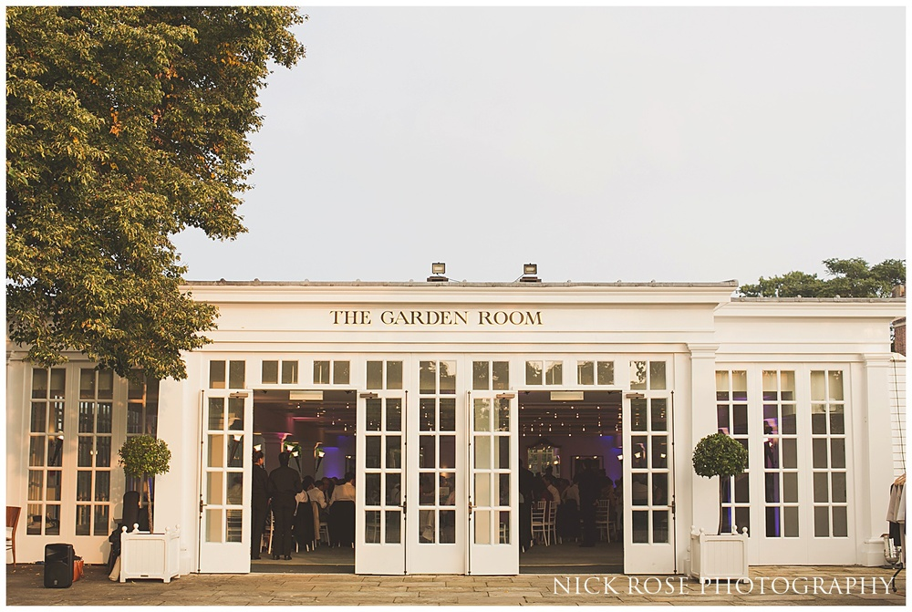Garden Room wedding Hampton Court Palace
