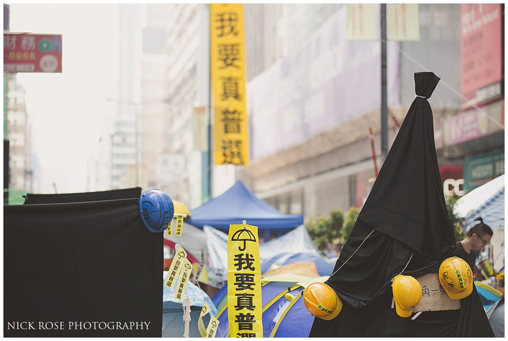 Pro democracy protests Mong Kok