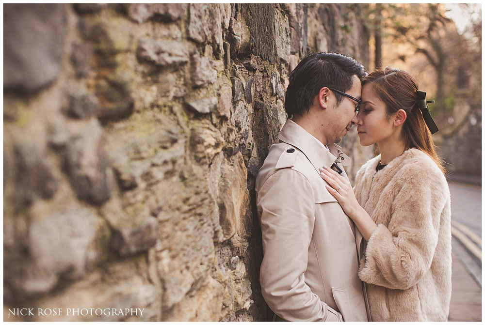 Destination pre wedding photography Edinburgh