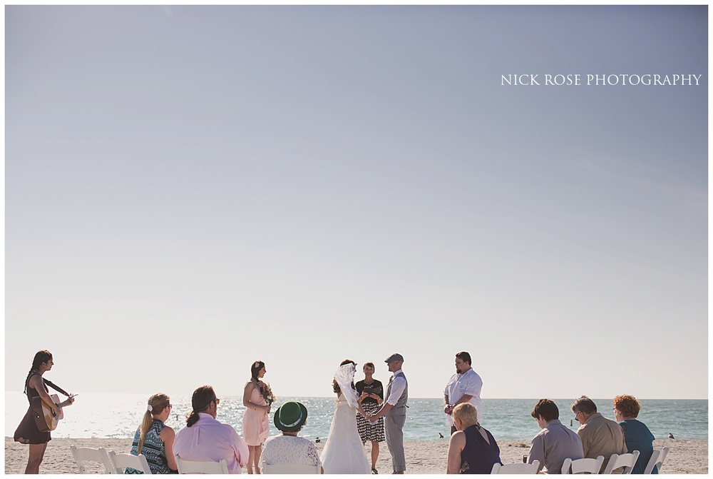 Destination Beach wedding photography Florida