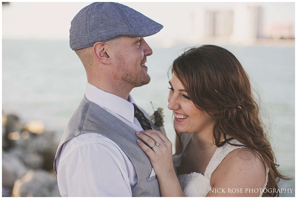 Destination wedding in Clearwater Florida