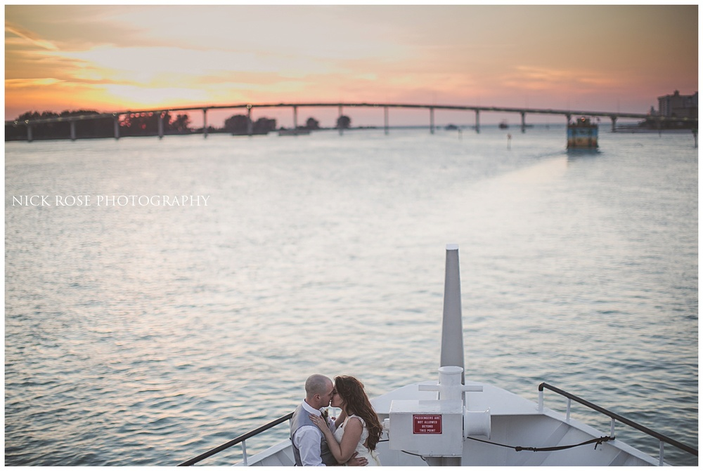 Starlight Cruise Wedding Photography Clearwater Florida