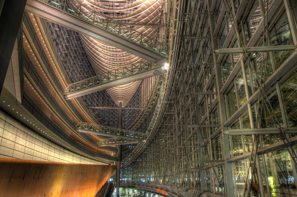 TOKYO FORUM BUILDING HDR