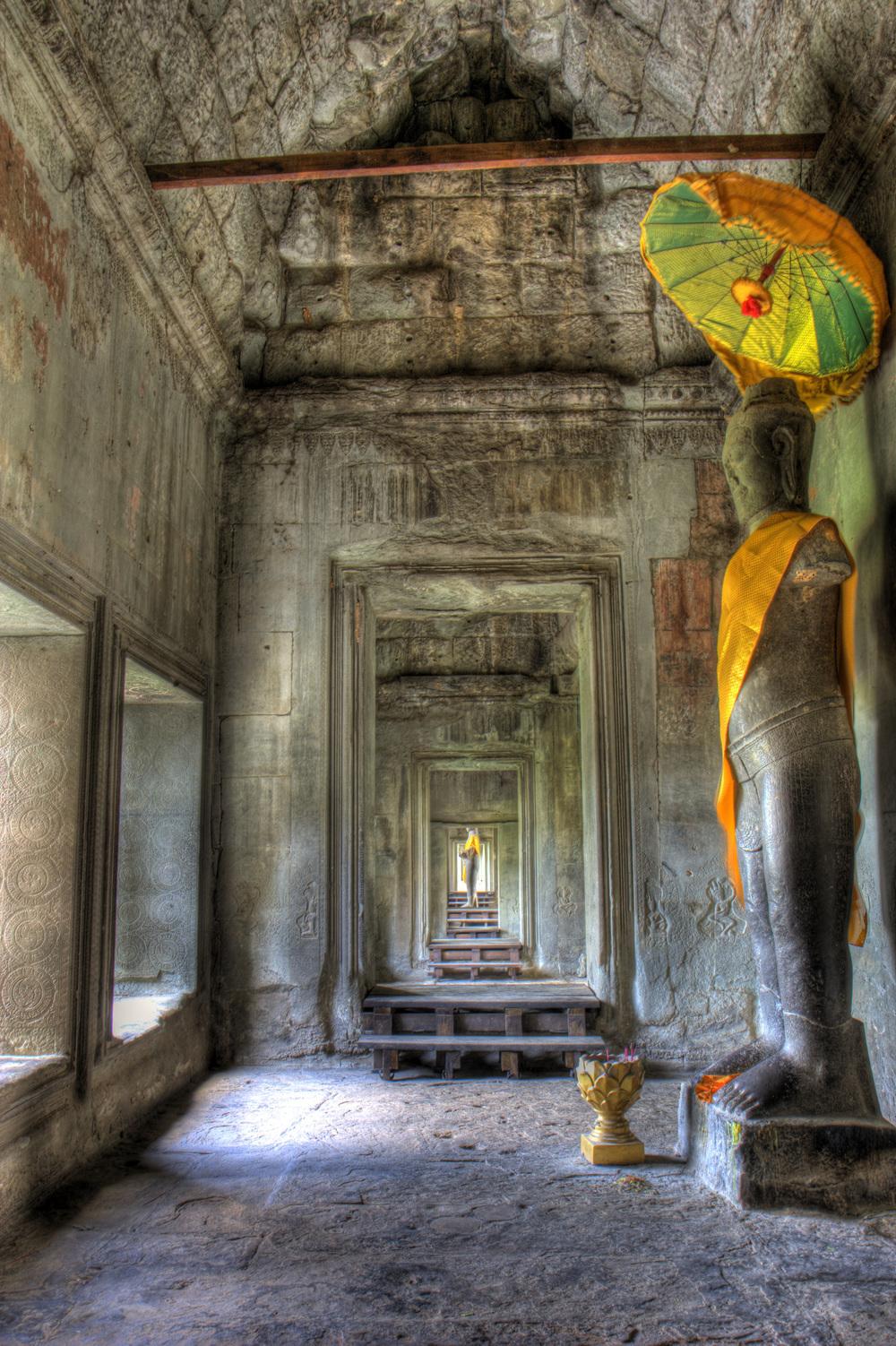 An HDR at Angkor Wat Cambodia