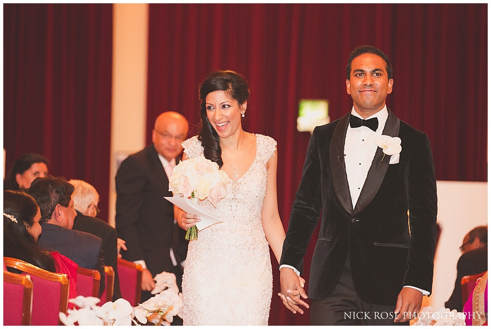 Indian wedding at Plaisterers Hall London