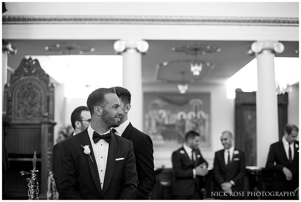 Greek Orthodox Cathedral Church wedding photography London