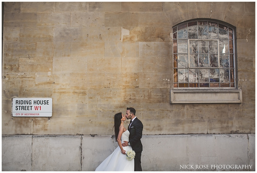 Langham London Wedding