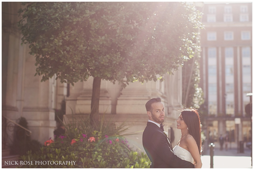 Langham Hotel Wedding London