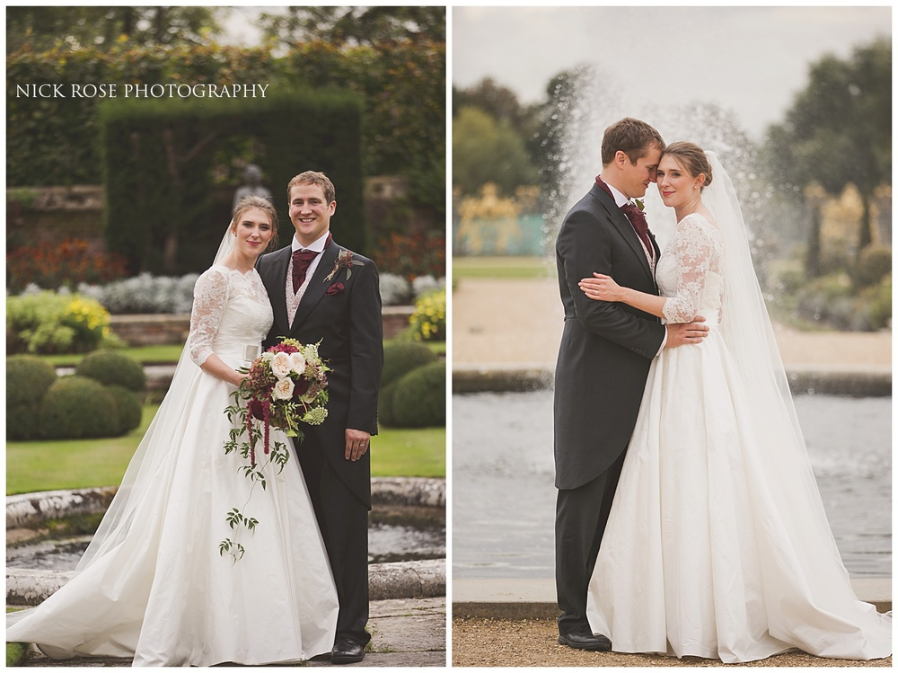 Hampton Court wedding pictures