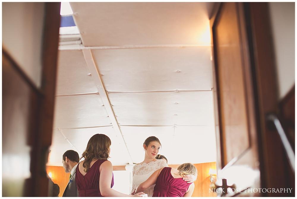 Surrey Boat Wedding