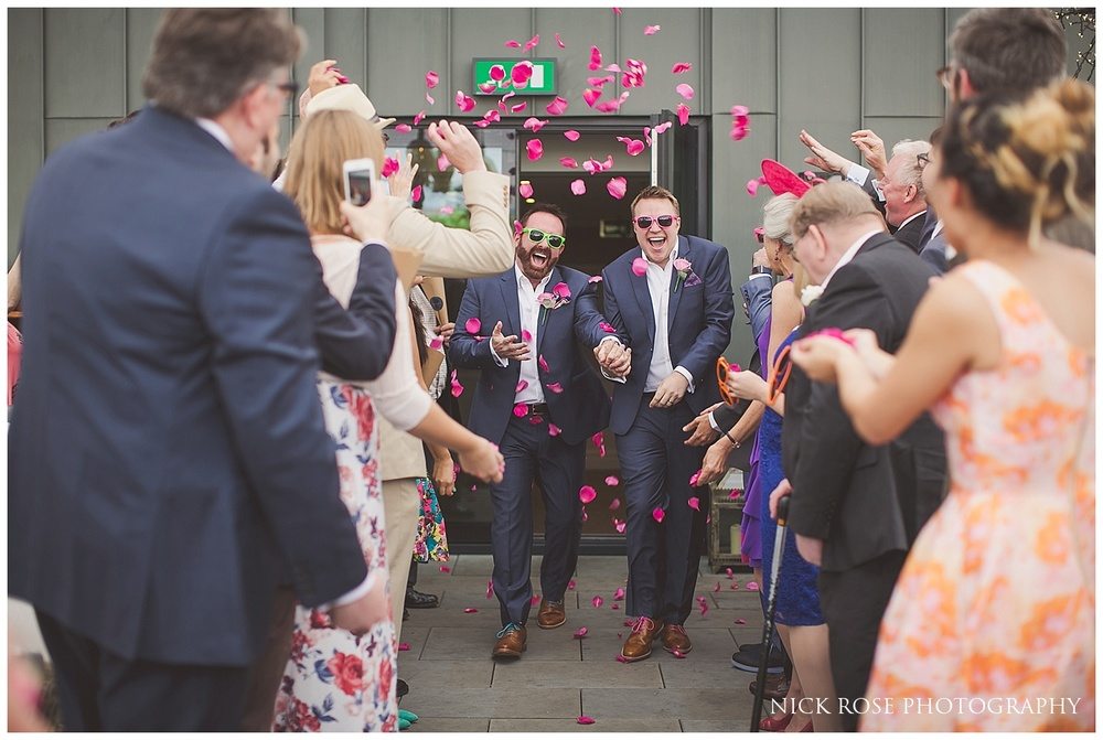 Summer Wedding Soho London