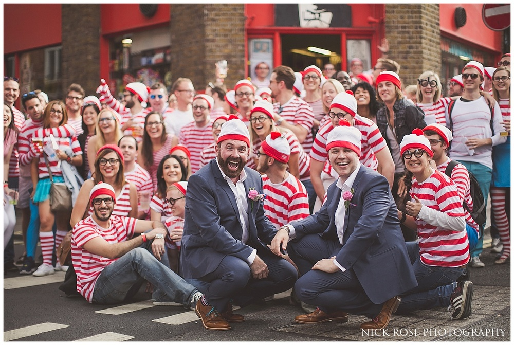 Where's Wally Wedding Photograph